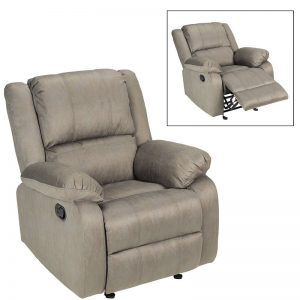 2018 Holiday Gift Guide: London Drugs Microsuede recliner