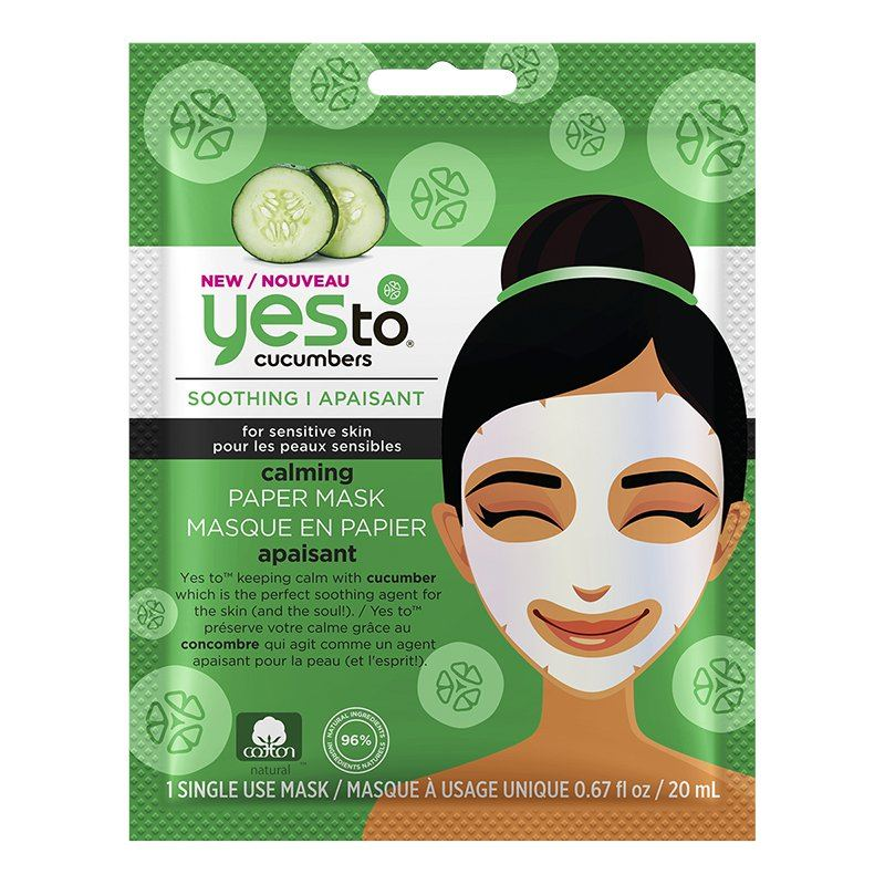 Yes To Sheet Mask Cucumber London Drugs Beauty