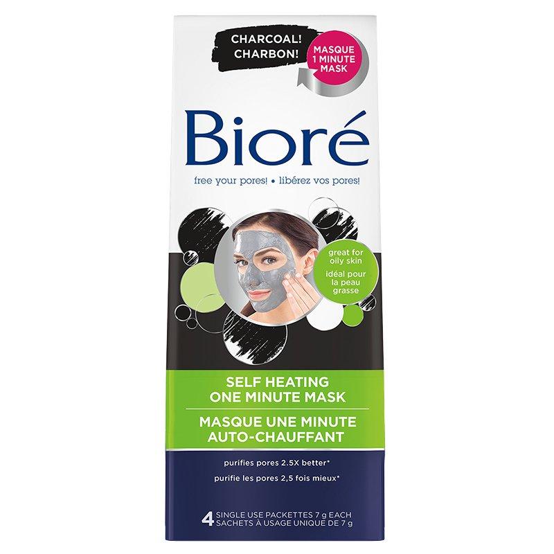 Biore Self Heating Charcoal Mask London Drugs Beauty