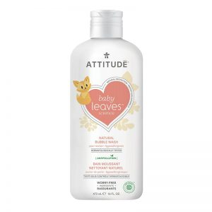 Attitude Baby Leaves Natural Bubble Wash