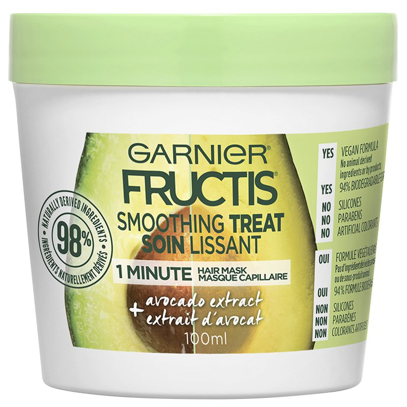 Garnier Fructis Smooth Treat 1 Minute Hair Mask